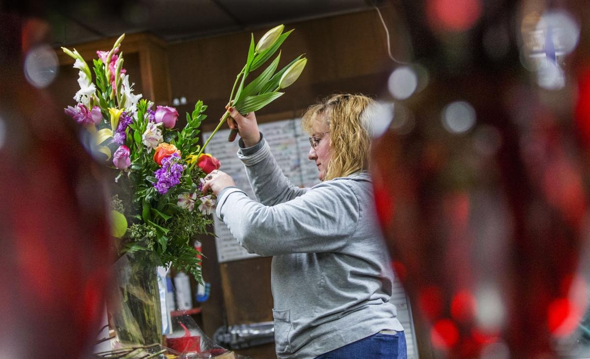 As the big day nears valentines still plentiful for for Log cabin florist bakersfield