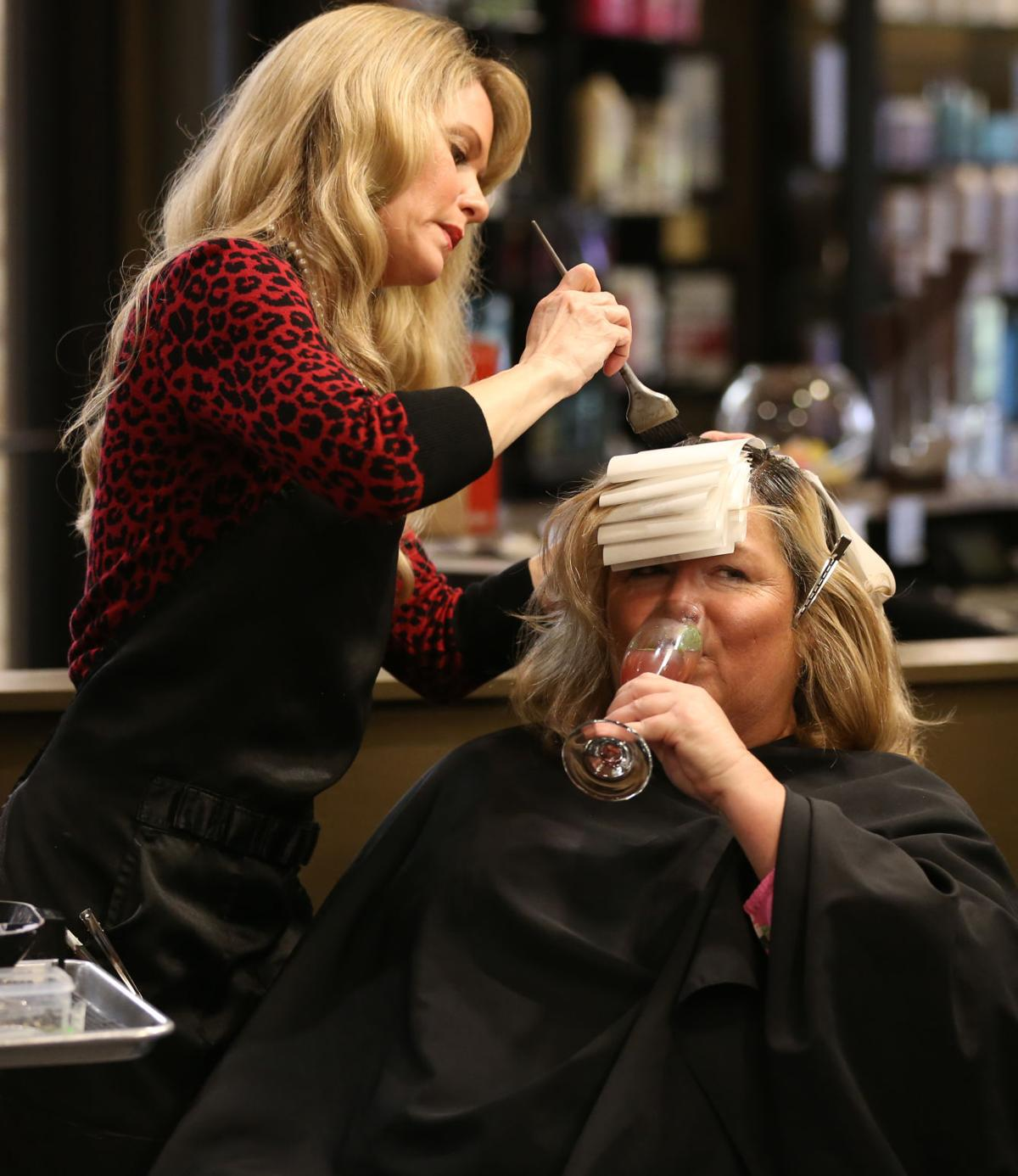 Beauty and the booze: Salons now (legally) serving alcohol