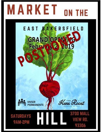 Market postponed