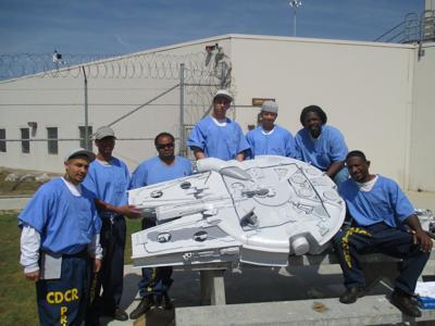 Wasco inmates Millenium Falcon