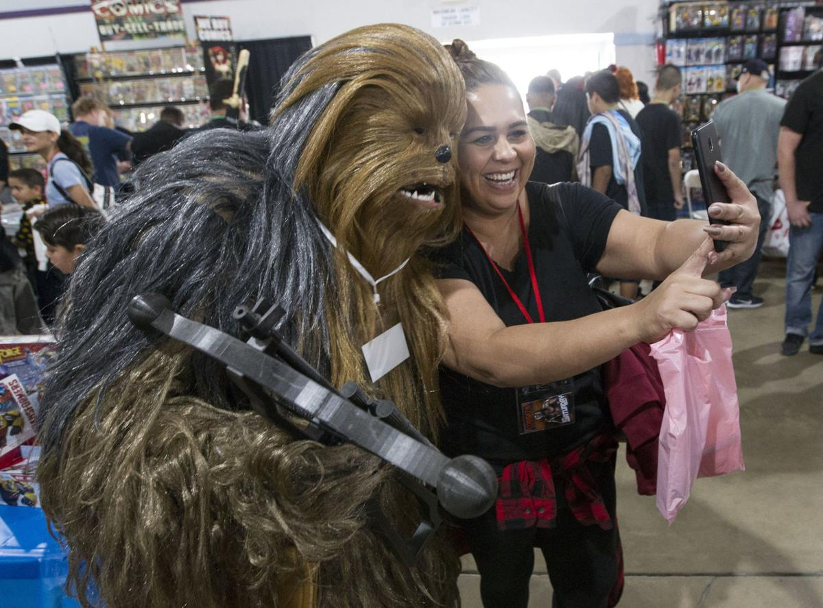 Superheroes, Jedis and more come out for Bakersfield Comic-Con