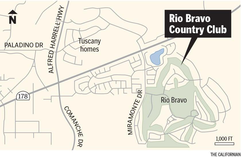 Rio Bravo Country Club map