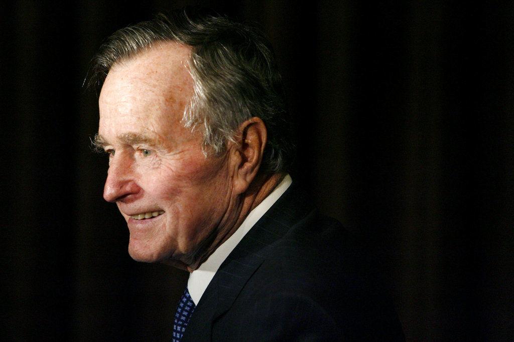 APTOPIX Obit George HW Bush