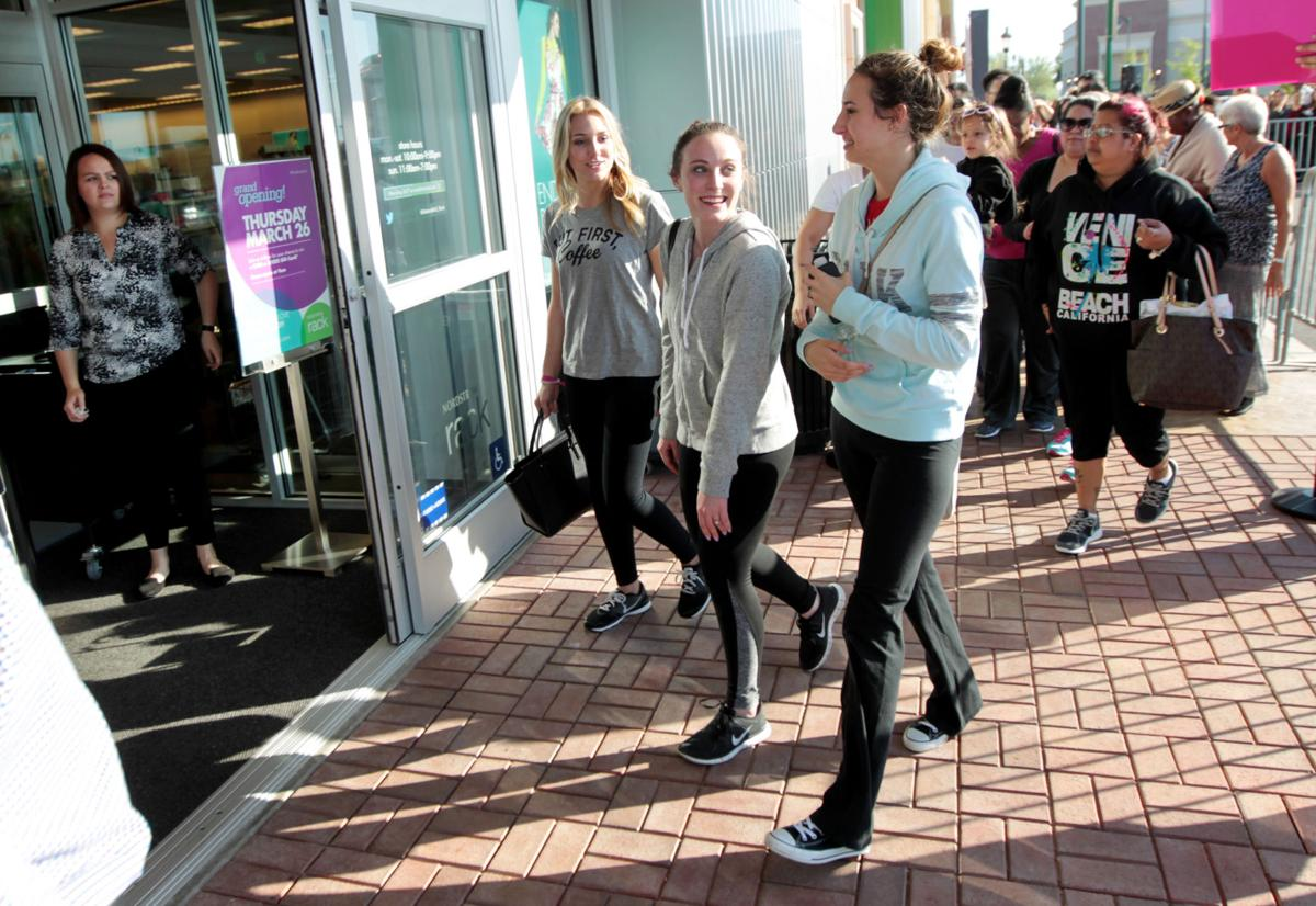 Hundreds Of Joyous Pers At Nordstrom Rack S Opening News Bakersfield Com