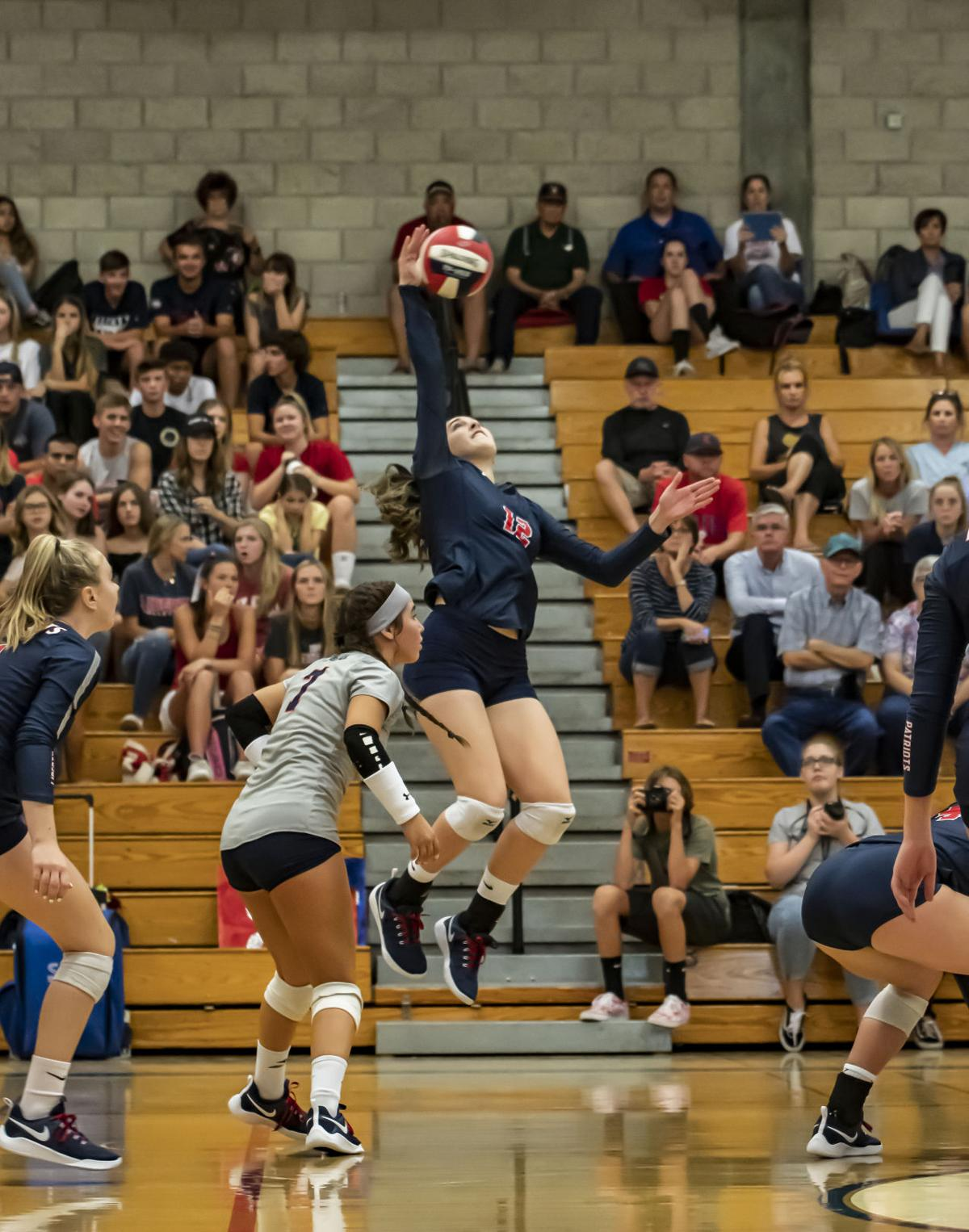 Liberty vs Exeter Volleyball