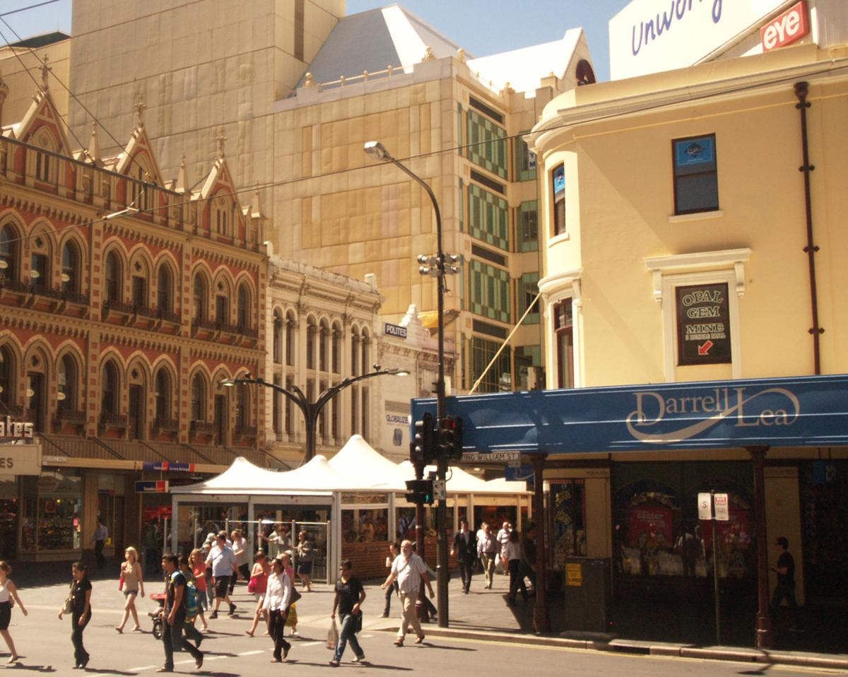6-Melbourne Down town city one mile square