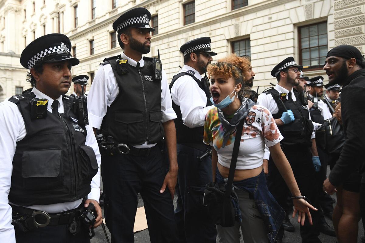 America Protests Britain