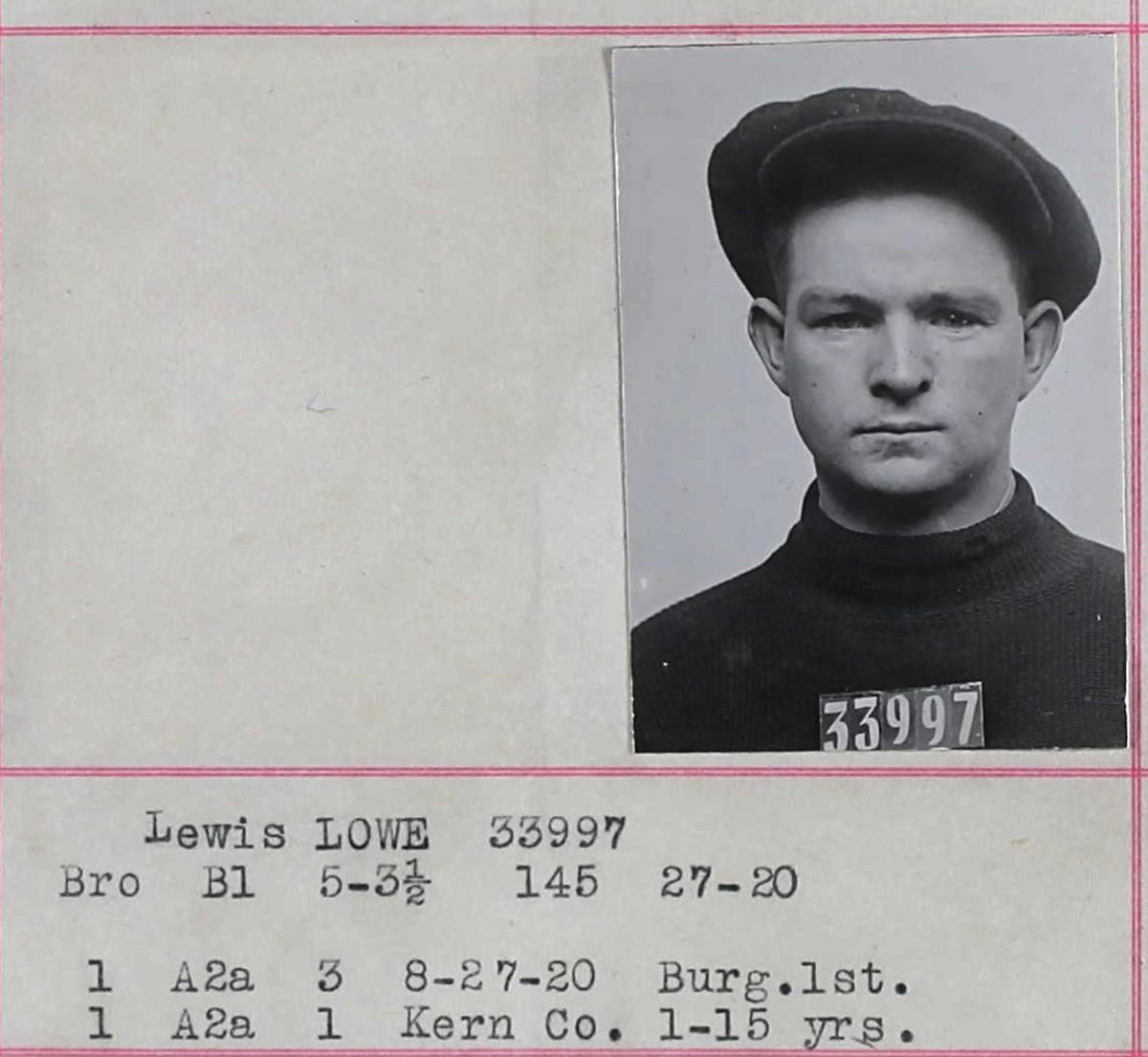 Lewis Lowe San Quentin