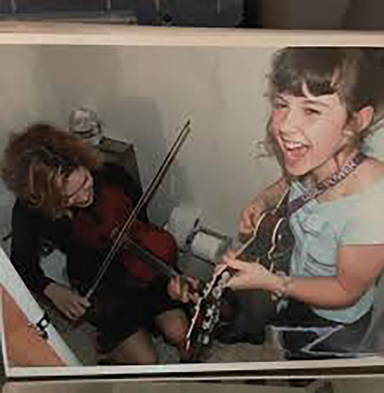 Sierra Hull with Alison Krauss
