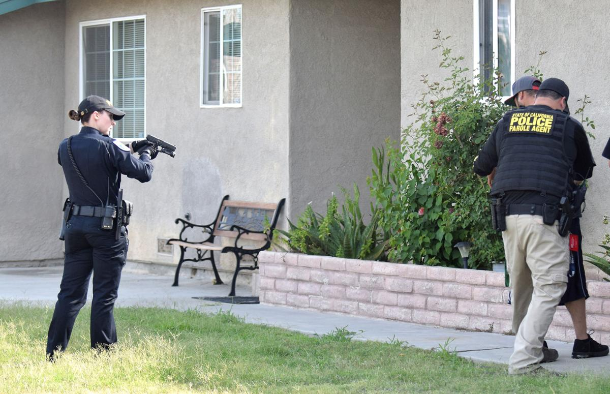 Delano Police Raid