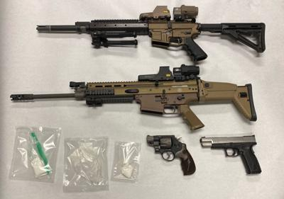 Firearms and drugs
