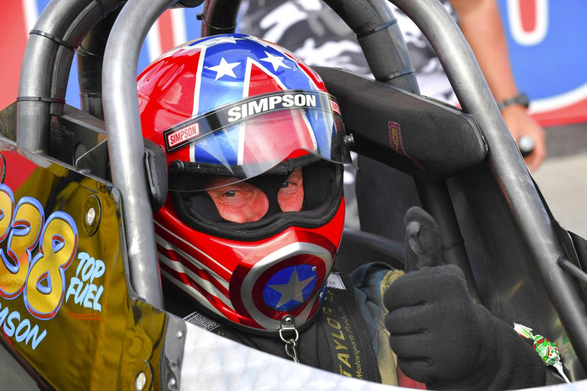 Top Fuel Bret Williamson Gives the thumbs up
