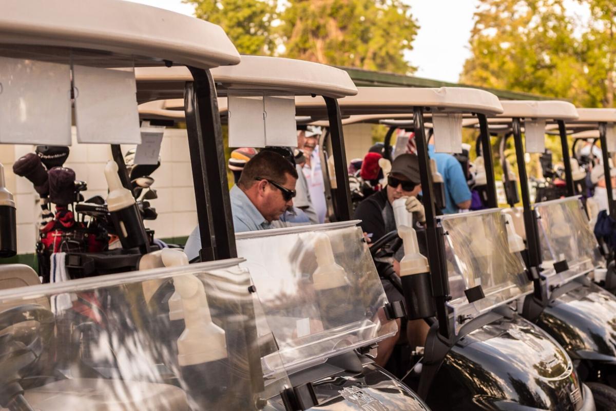 Magdalene Hope golf carts