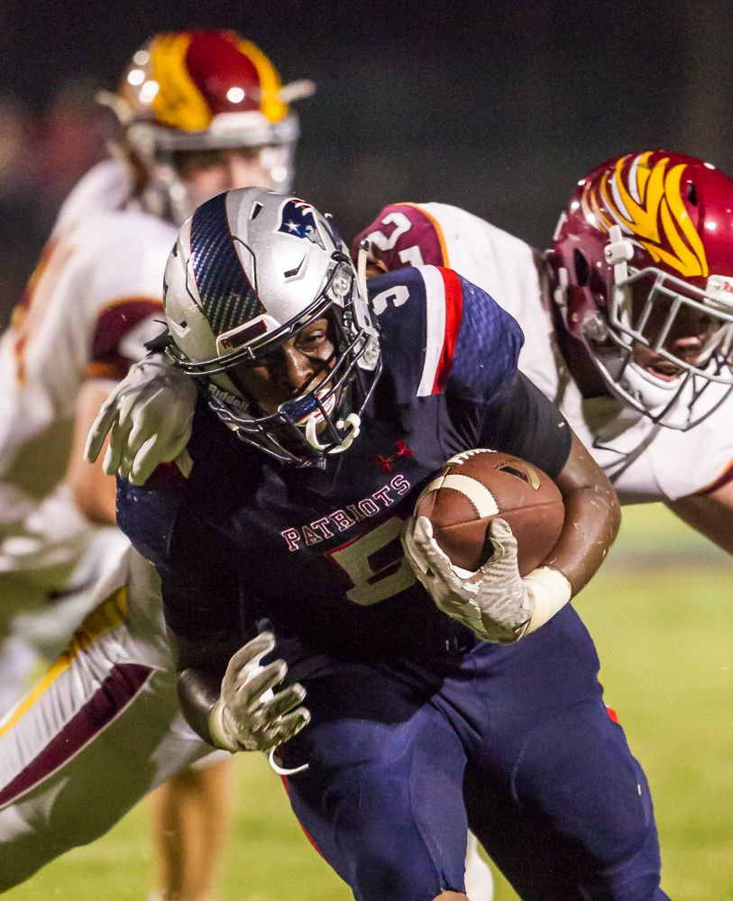 Sam Whitelock Breaks A Tackle: Liberty Holds On For Win Over Clovis West, 31-30