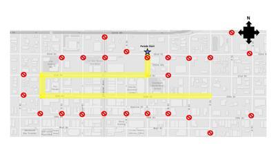 Veteran's Day Parade Route.JPG