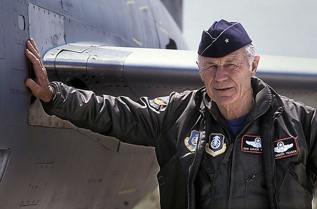 Chuck Yeager, The Right Stuff.