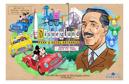 Len Smith Disneyland