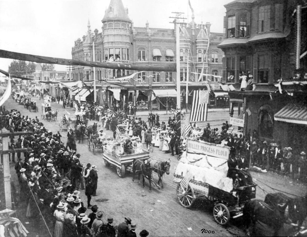 Railroad celebration 1898