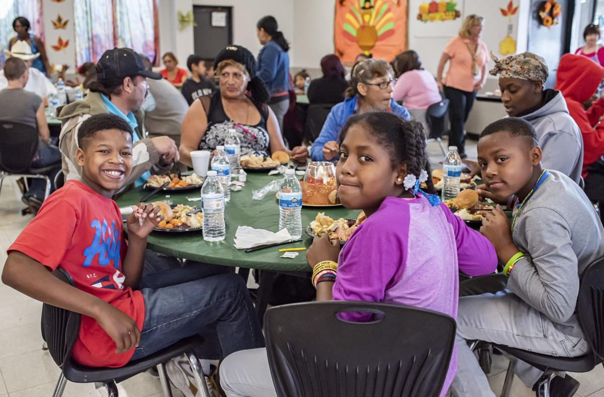 Bakersfield Homeless Center Thanksgiving Feast