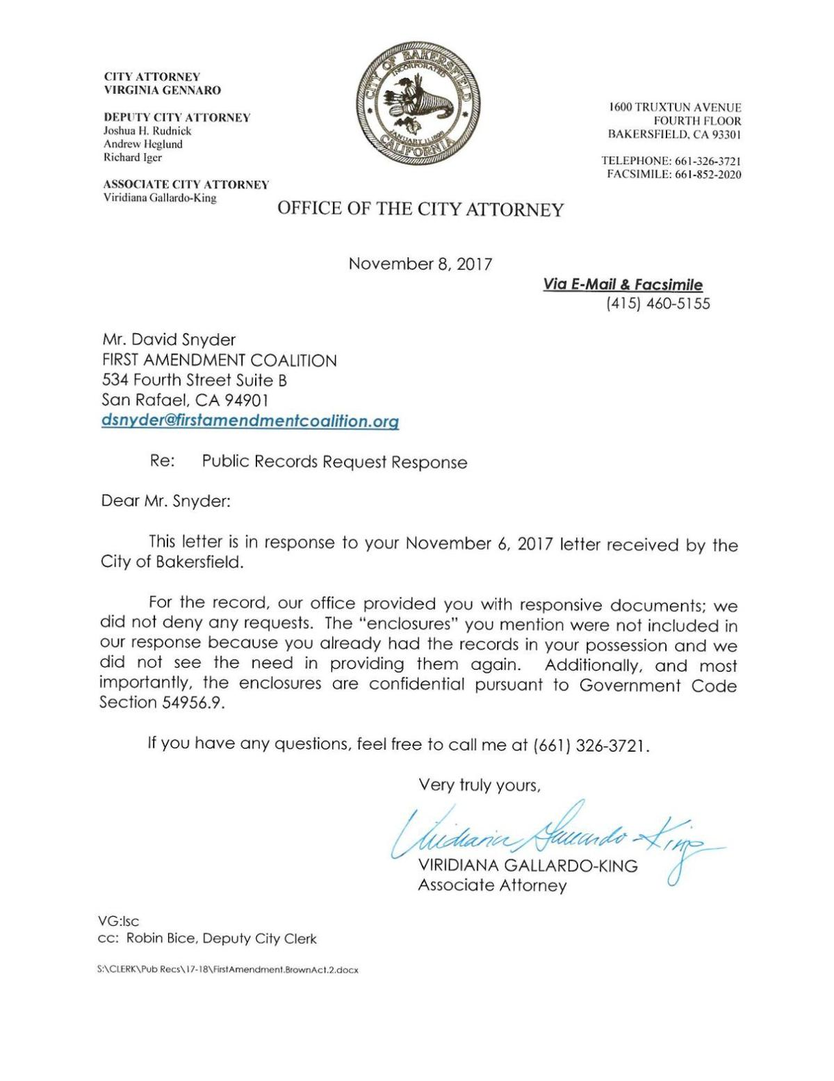 City response to follow up letter bakersfield download pdf city response to follow up letter spiritdancerdesigns