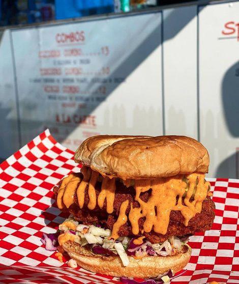 Bucky's sandwich