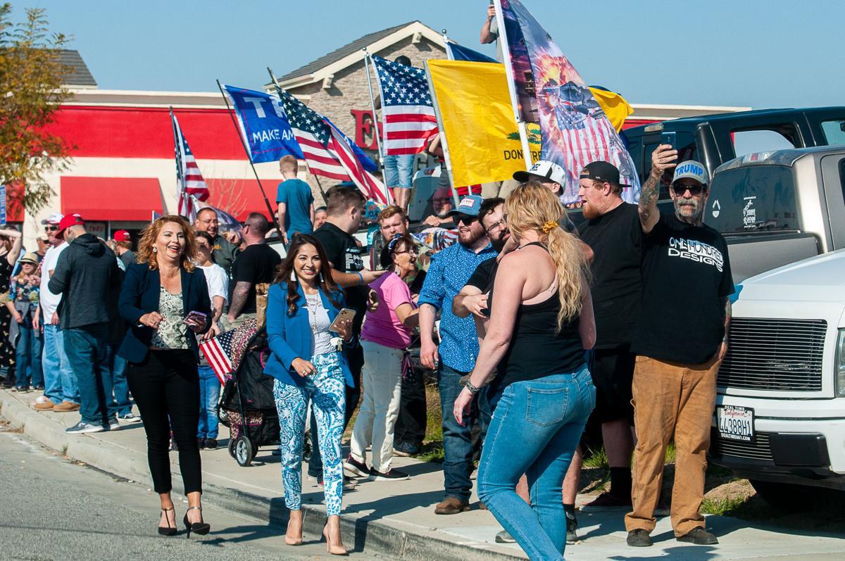 Trump Visits Bakersfield