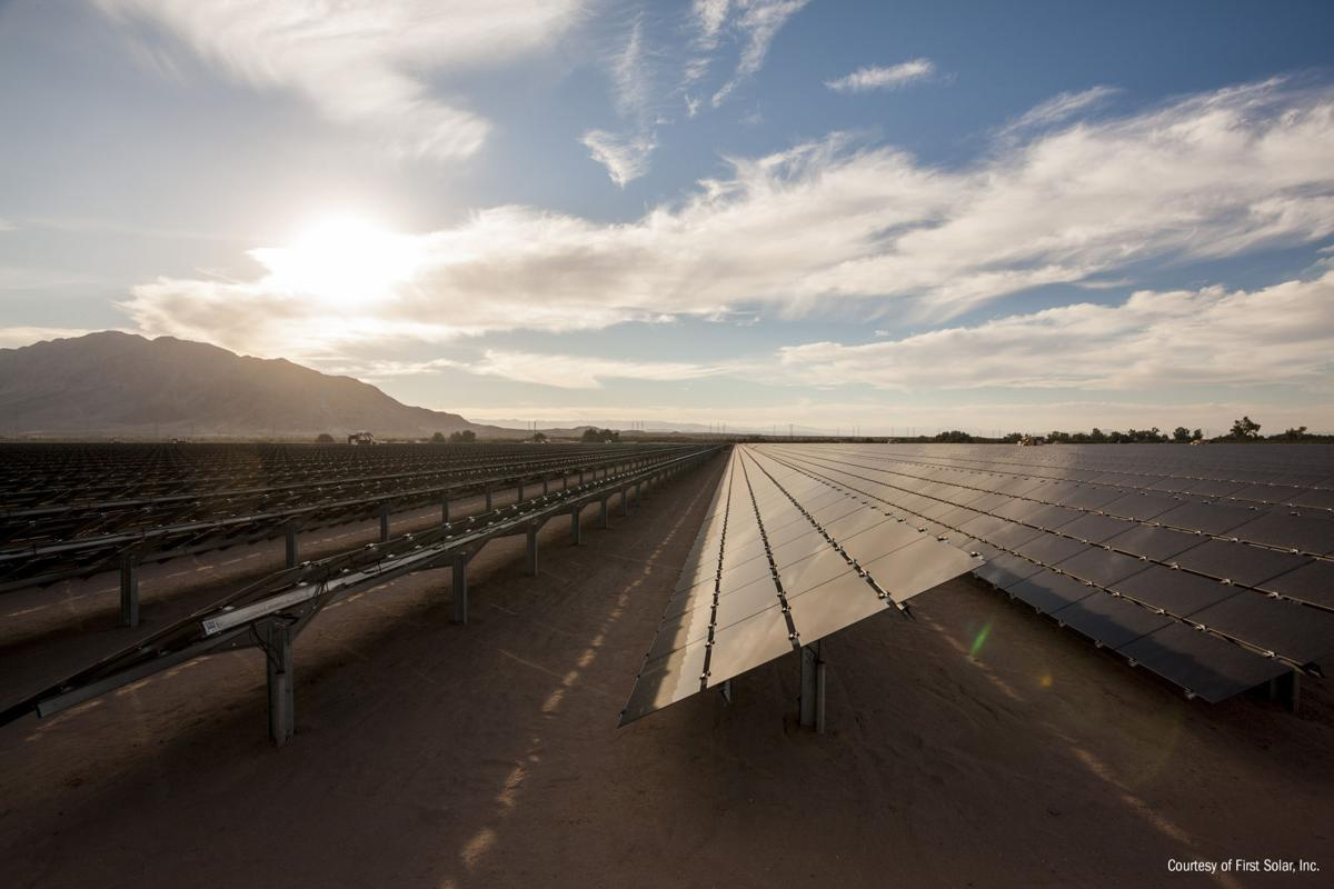 Southern California First Solar sites