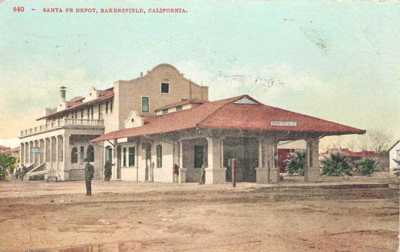 santa fe depot bakersfield