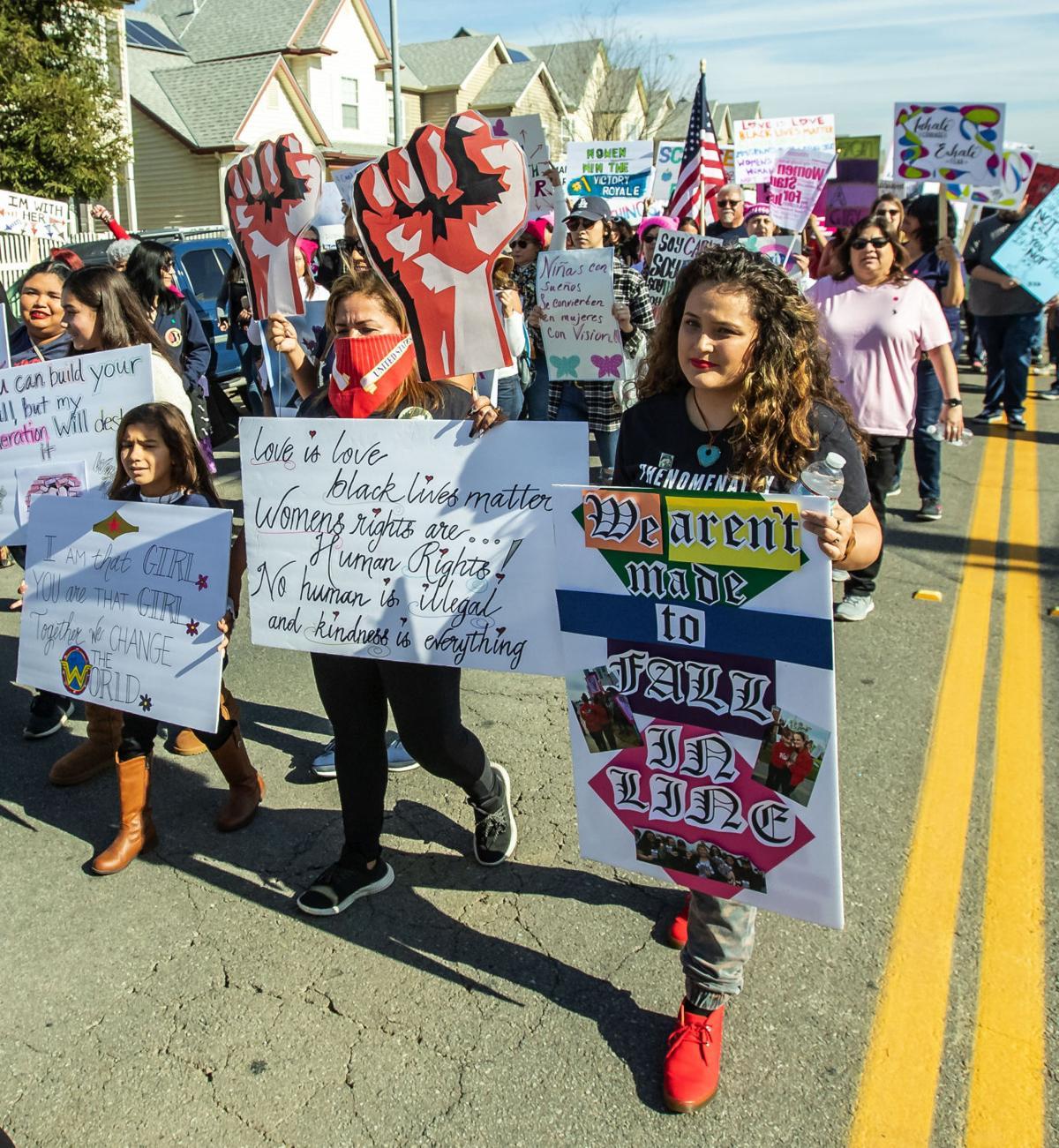 Womens March Bakersfield09