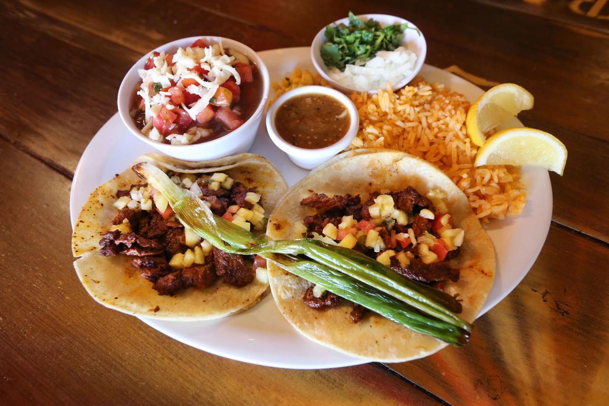 Nuestro tacos  dish