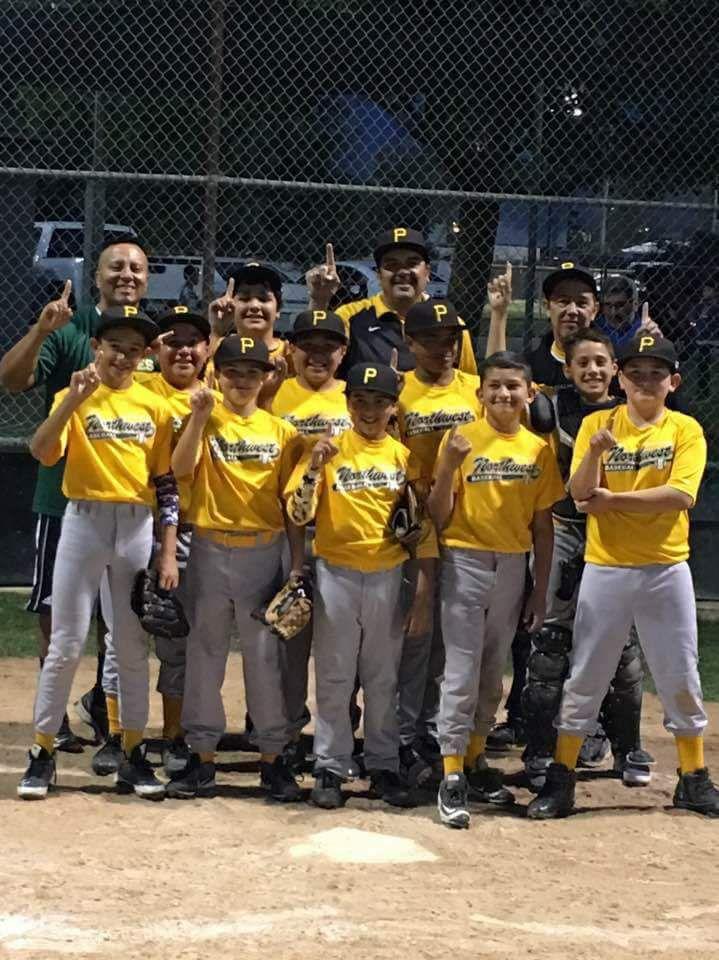 Northwest Bakersfield Baseball AAA Pirate Champions