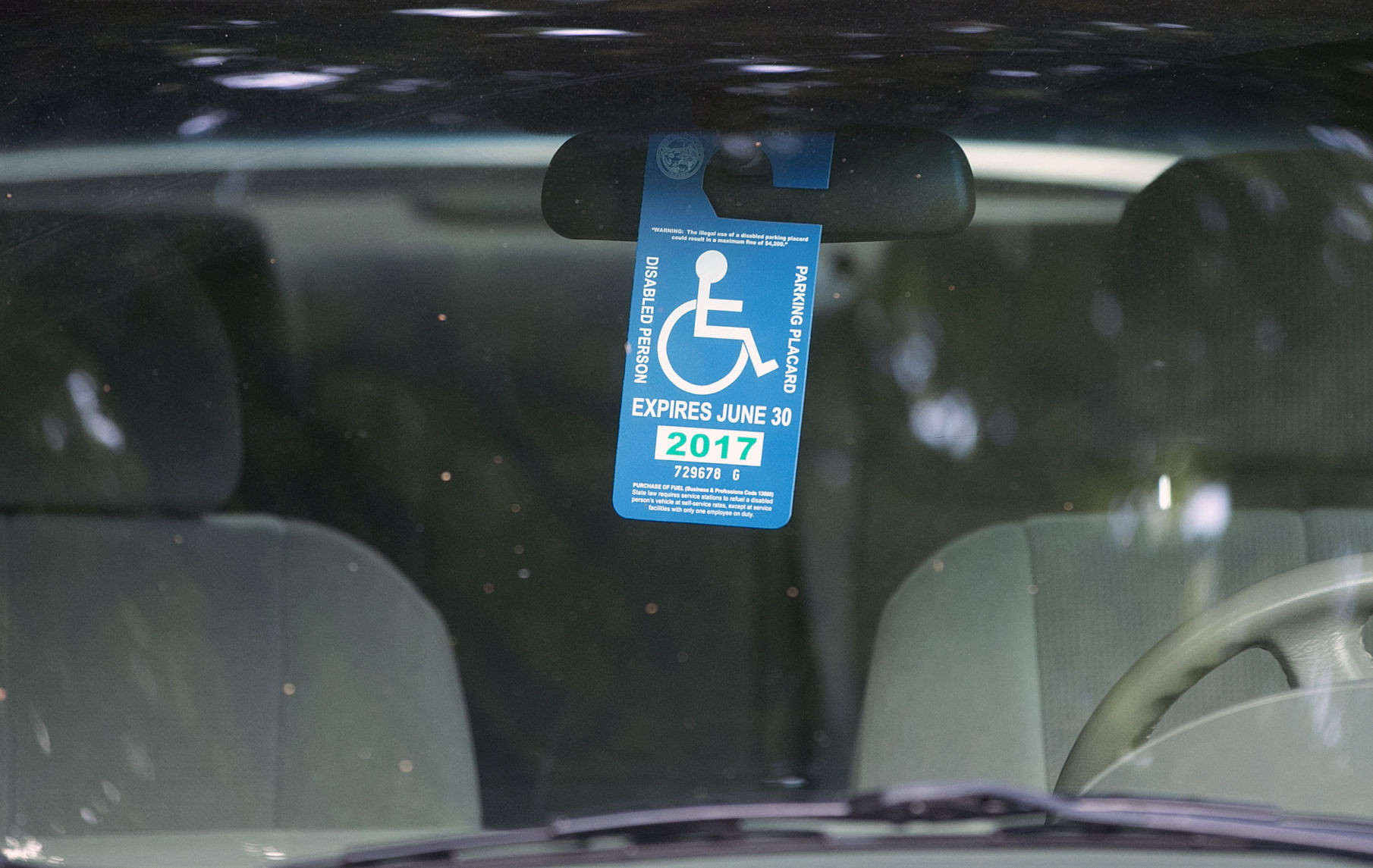 DMV cracking down on fraudulent use of disabled parking placards ...