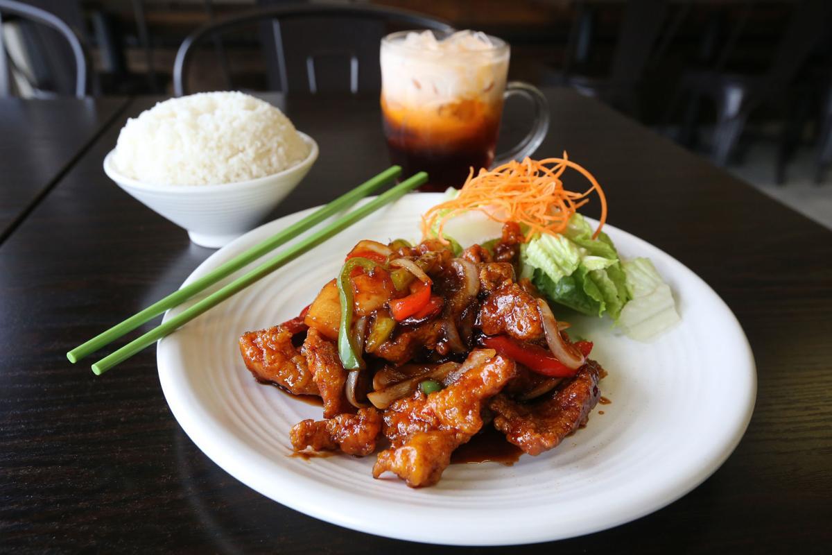 Bangkok pork chop