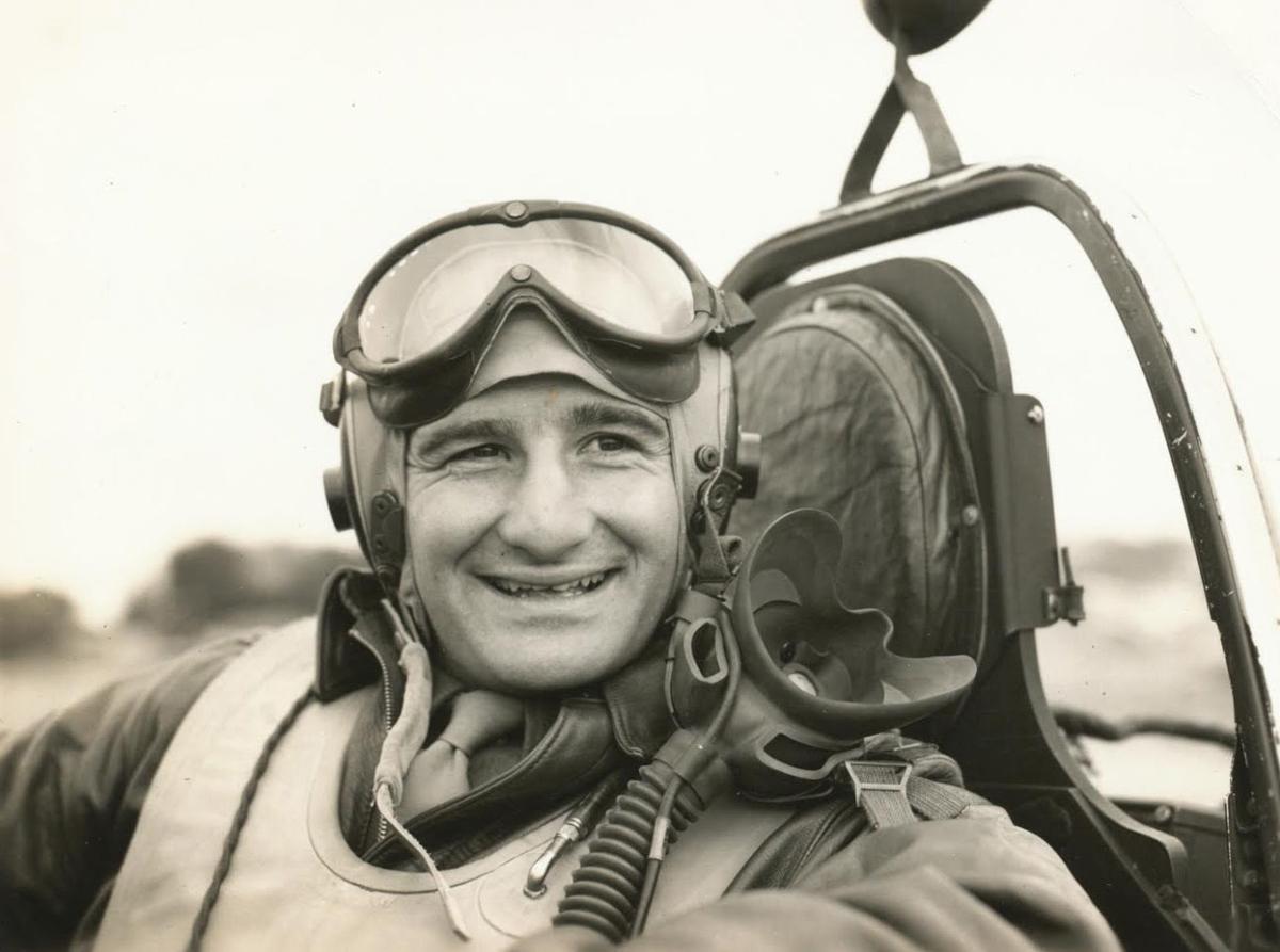 Turk fighter pilot 1943