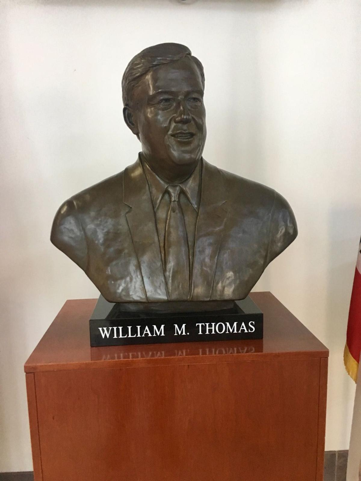 William Thomas Bust