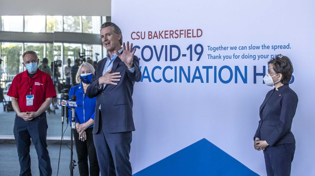 Governor Newsom at CSUB10