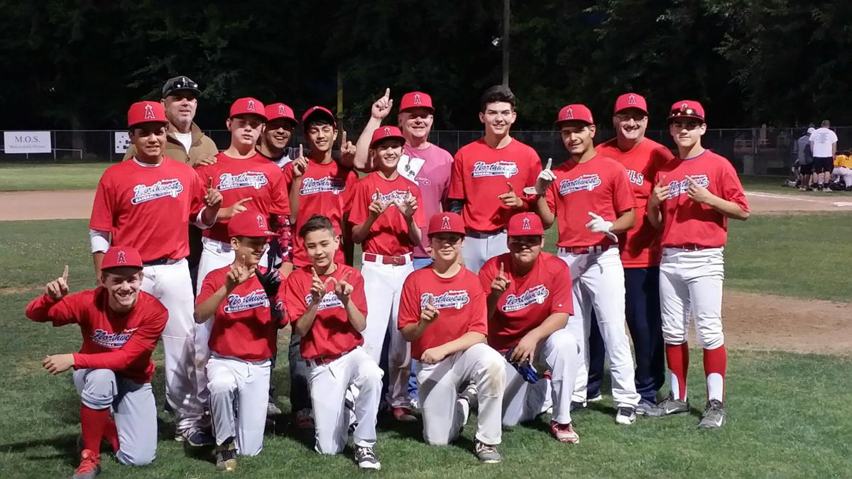 Northwest Baseball Prep Division Playoff Champions - Angels