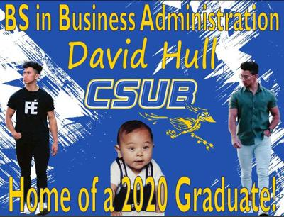 2020 Graduate: California State University, Bakersfield - David Anthony Hull