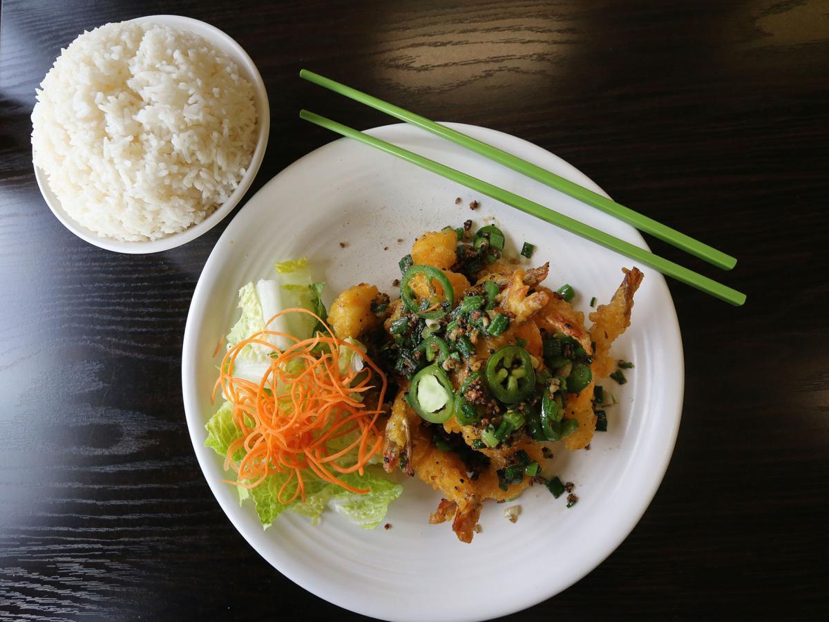 Bangkok salt pepper shrimp
