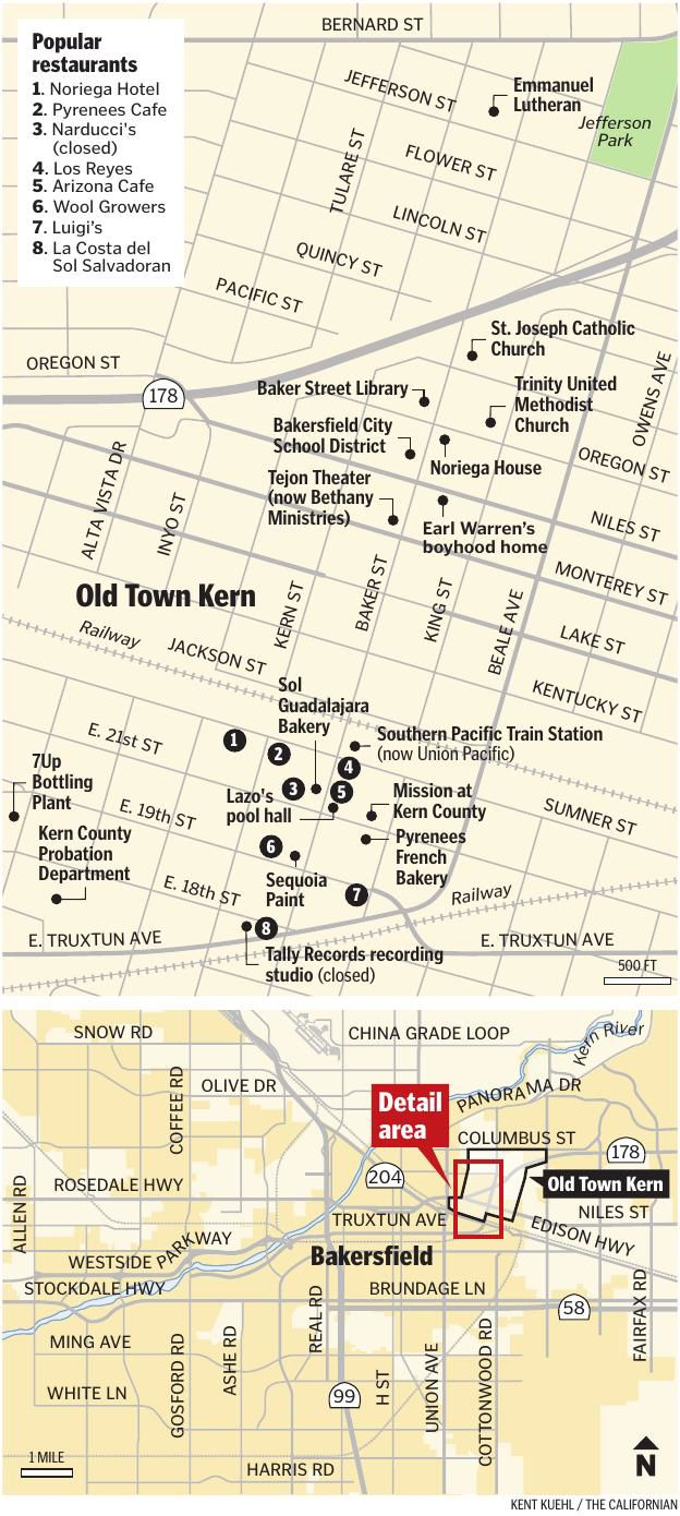 WHERE WE LIVE: In Old Town Kern, renowned restaurants and