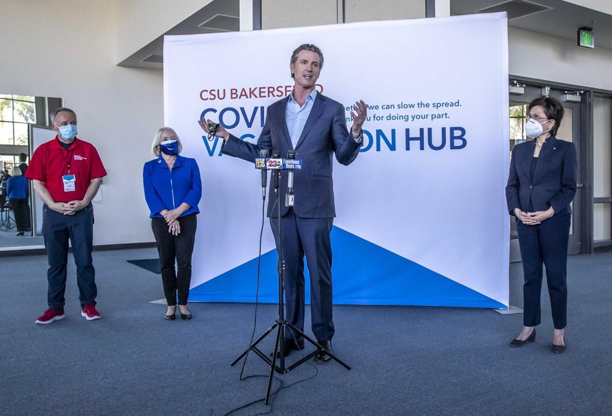Governor Newsom at CSUB06