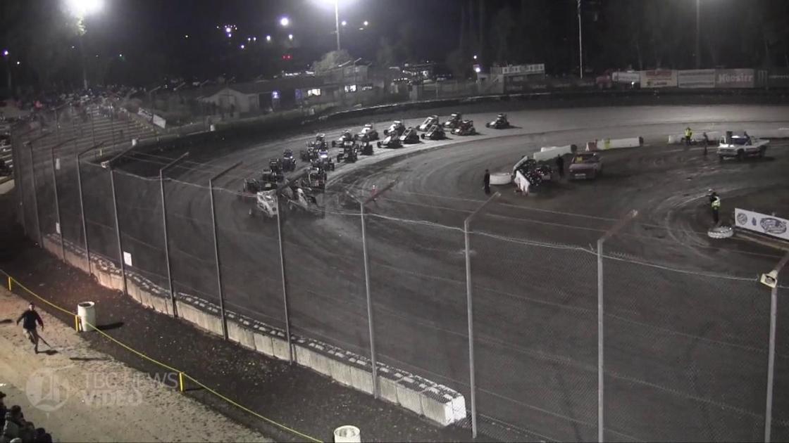 Highlights: USAC National Midget race at Bakersfield