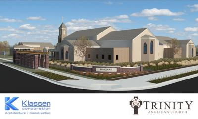 Trinity Anglican Church rendering