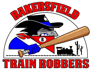 Bakersfield Train Robbers logo