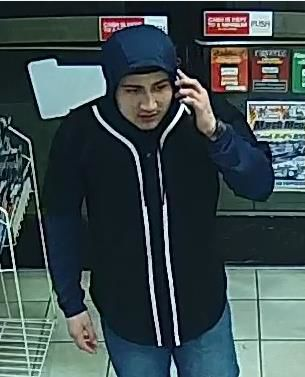 Fastrip robbery suspect