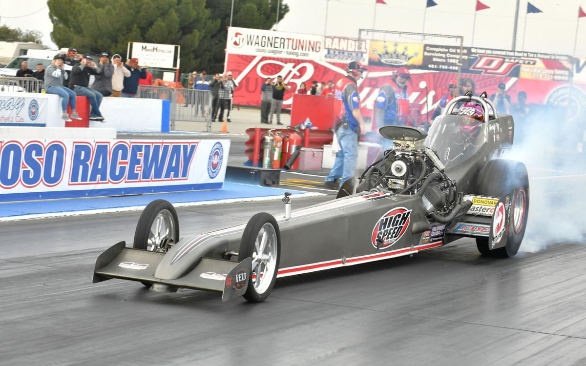 Fry set sights on March Meet victory and another Top Fuel