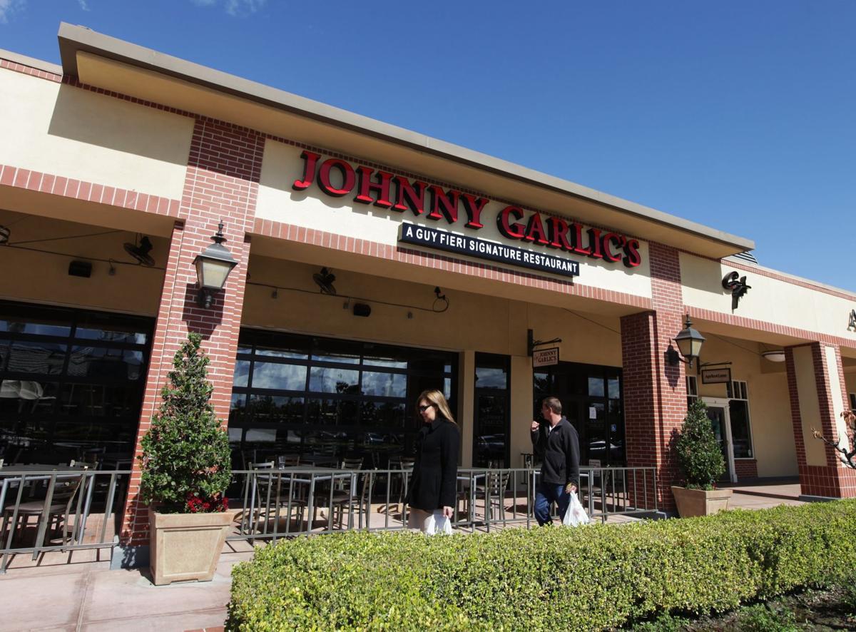 Johnny Garlic's closed