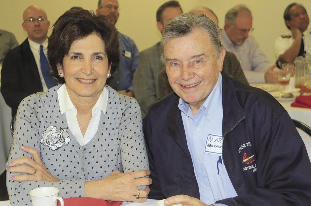 Cathy and Mark Abernathy