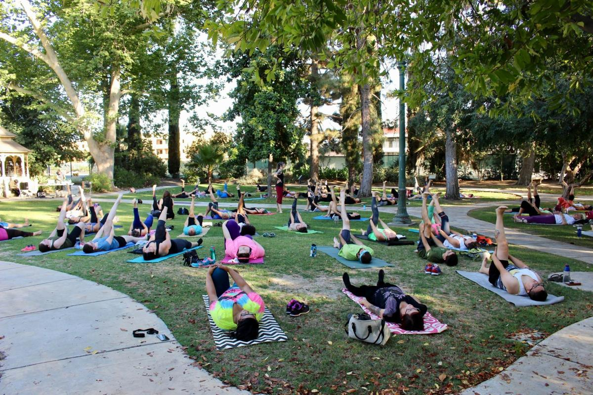 Making A Happier Healthier Community White Wolf Wellness Foundation Offers Free Yoga Meditation Classes For All Bakersfield Life Bakersfield Com