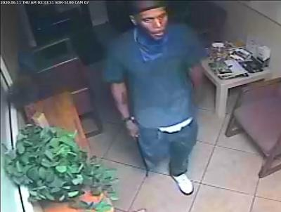 Burglary Suspect 5330 Office Center Court